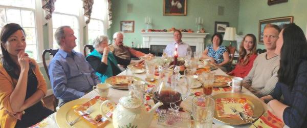 Nova foto de Elizabeth comemorando o Dia de Ação de Graças