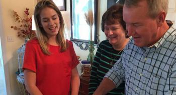 FOTOS: Elizabeth celebra o Dia de Ação de Graças