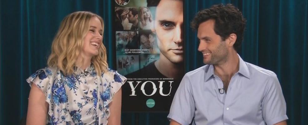 Entrevistas na TV para a divulgação de YOU com Elizabeth